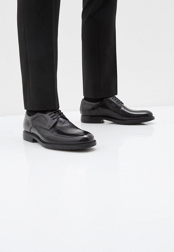 Фото 6 - мужские туфли Ralf Ringer черного цвета
