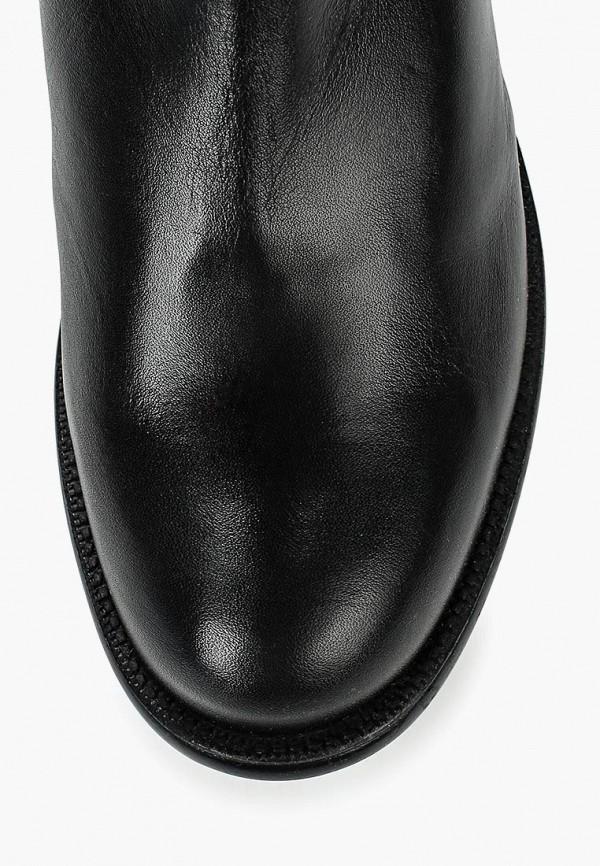 Фото 4 - Женские ботфорты Ralf Ringer черного цвета