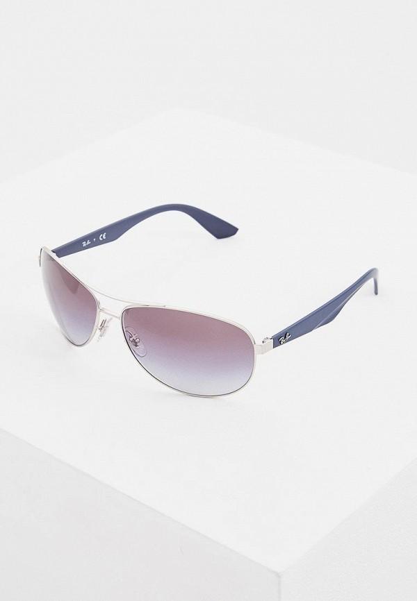 мужские солнцезащитные очки ray ban, синие