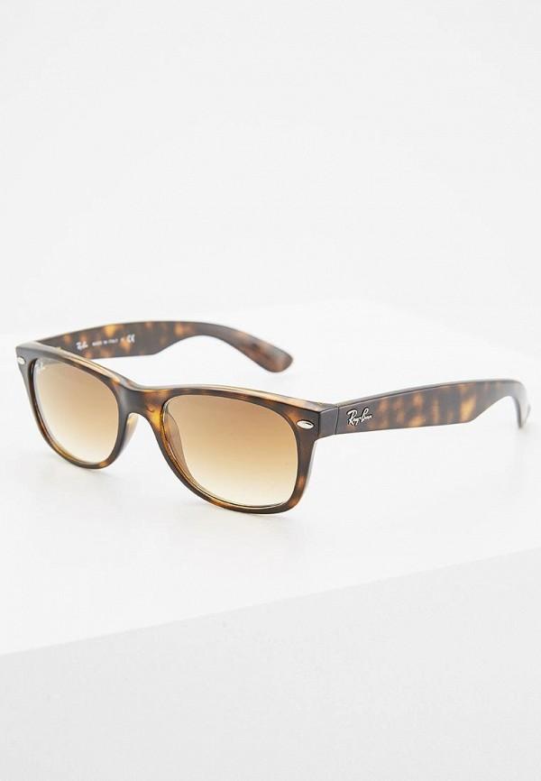Купить Очки солнцезащитные Ray-Ban®, Wayfarer 55, ra149dubjs90, коричневый, Осень-зима 2018/2019