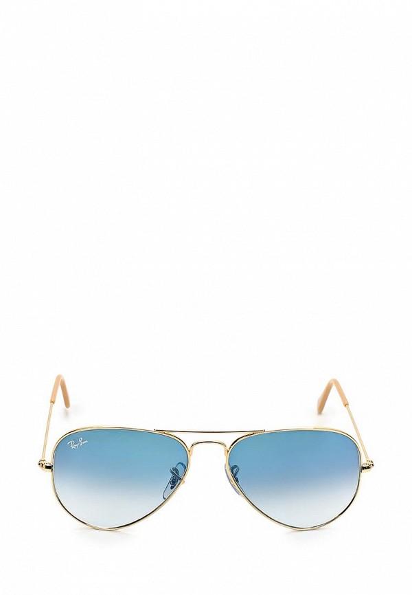 Солнцезащитные очки  золотой цвета