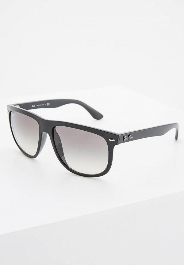 мужские солнцезащитные очки ray ban, черные