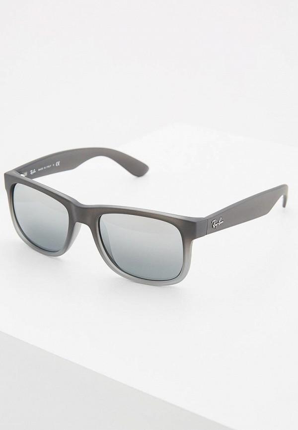 мужские солнцезащитные очки ray ban, серые