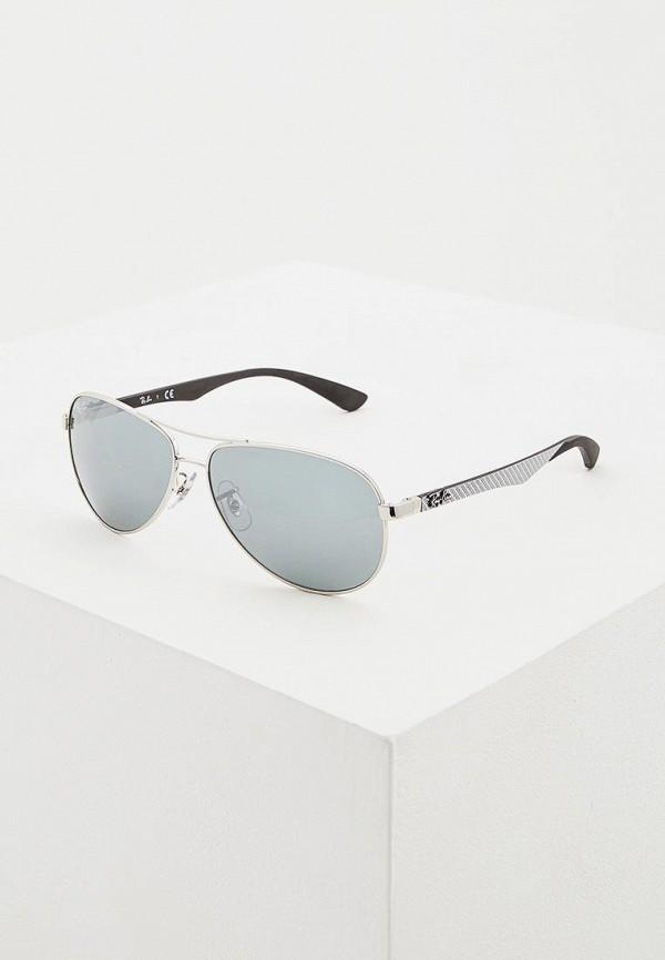 женские авиаторы солнцезащитные очки ray ban, разноцветные