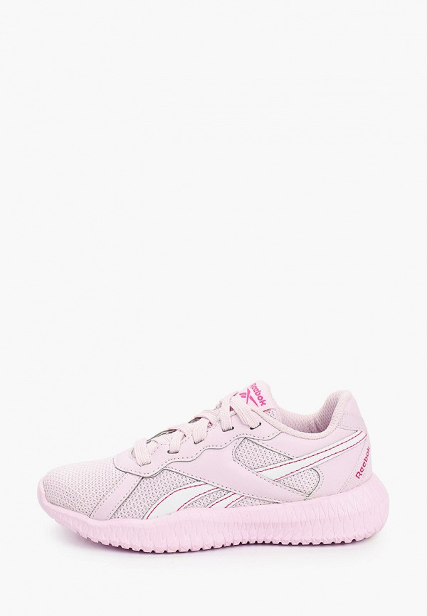 кроссовки reebok classic для девочки, розовые