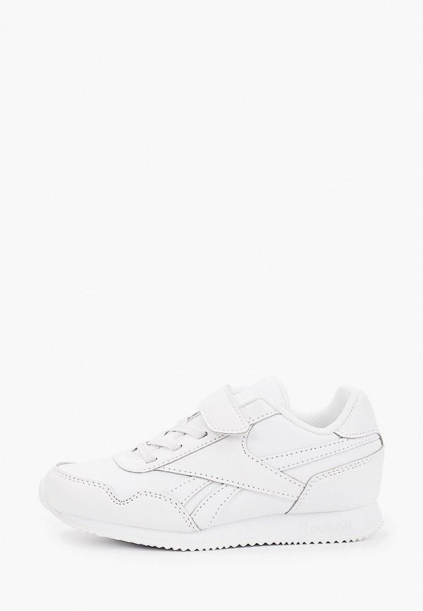 кроссовки reebok classic для девочки, белые