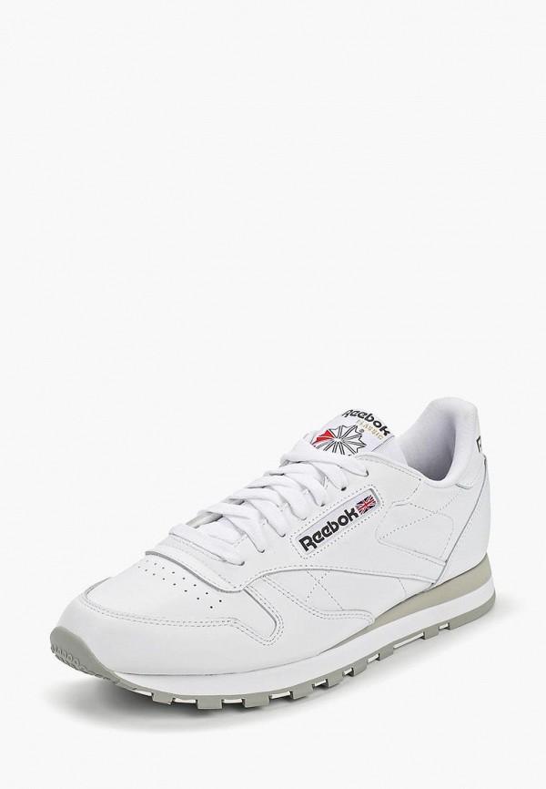 Фото 10 - женские кроссовки Reebok Classics белого цвета