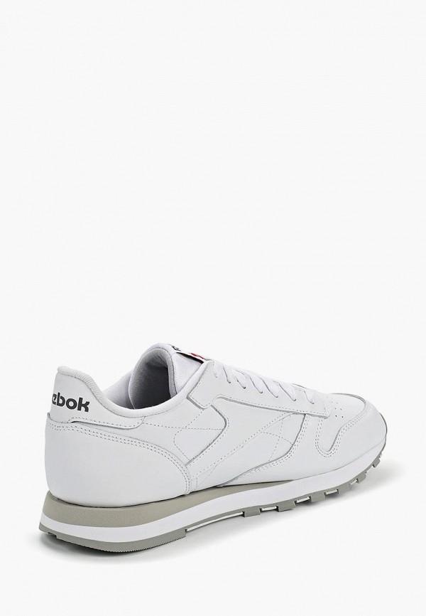 Фото 11 - женские кроссовки Reebok Classics белого цвета