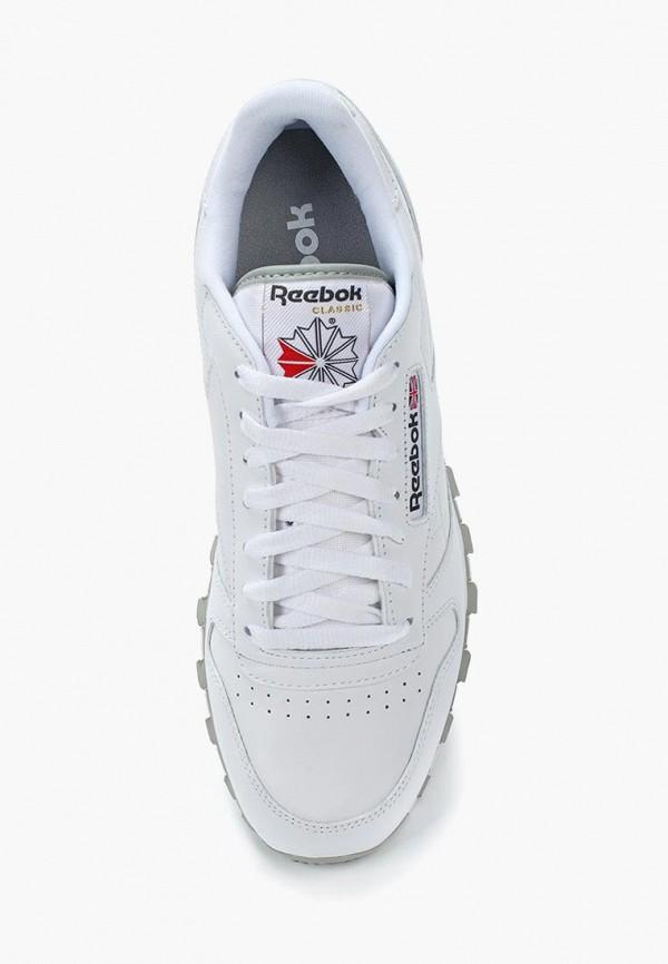 Фото 4 - женские кроссовки Reebok Classics белого цвета