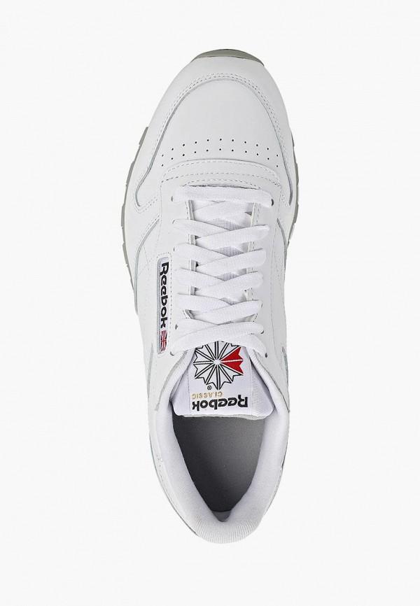 Фото 12 - женские кроссовки Reebok Classics белого цвета