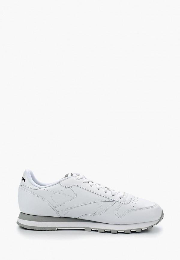 Фото 5 - женские кроссовки Reebok Classics белого цвета