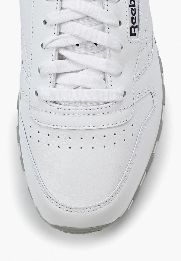 Фото 6 - женские кроссовки Reebok Classics белого цвета