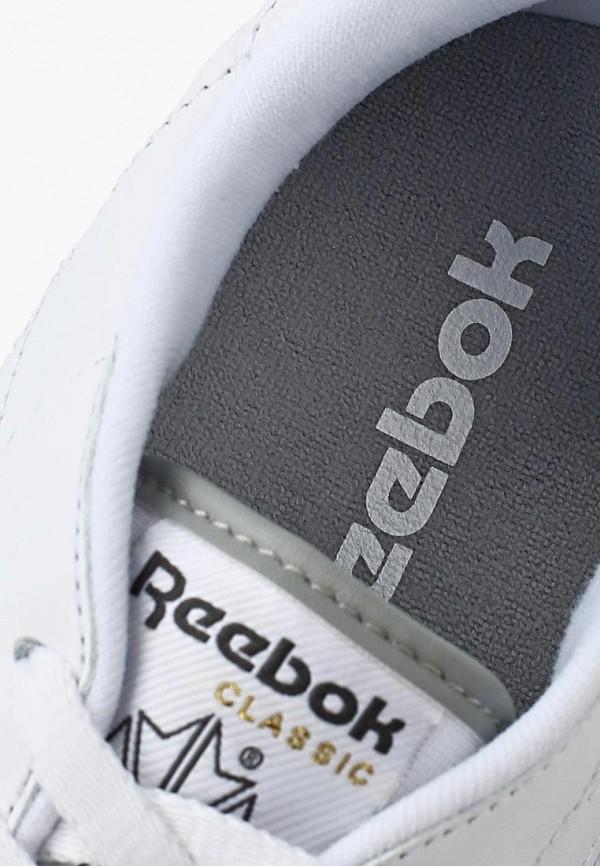 Фото 7 - женские кроссовки Reebok Classics белого цвета