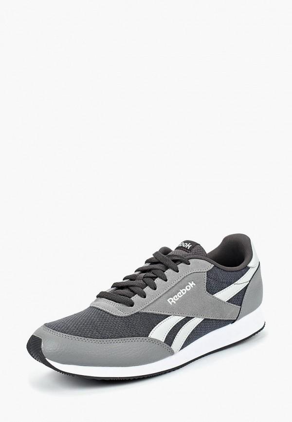мужские кроссовки reebok classic, серые