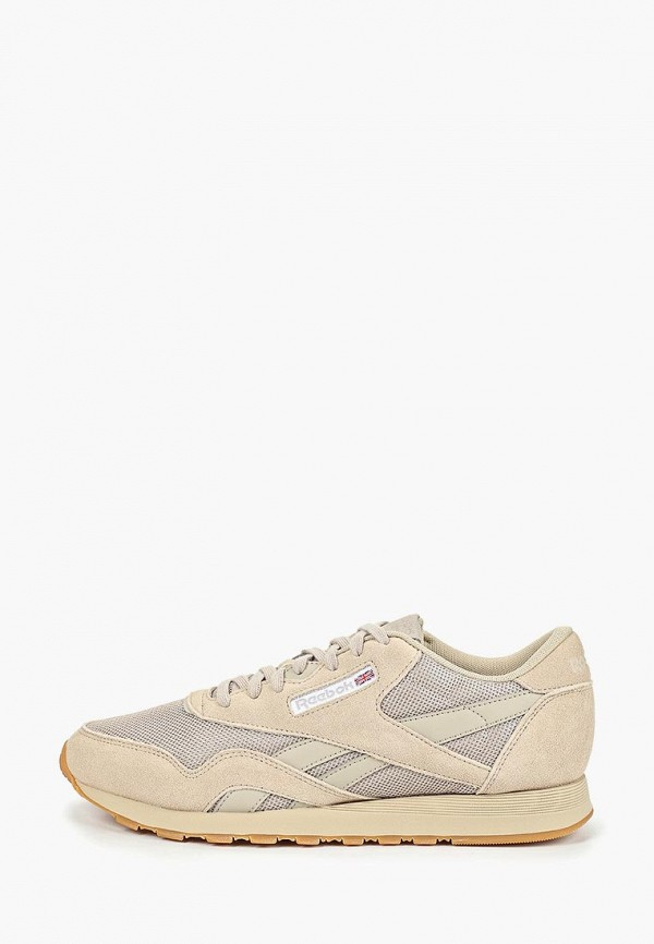 мужские низкие кроссовки reebok, бежевые