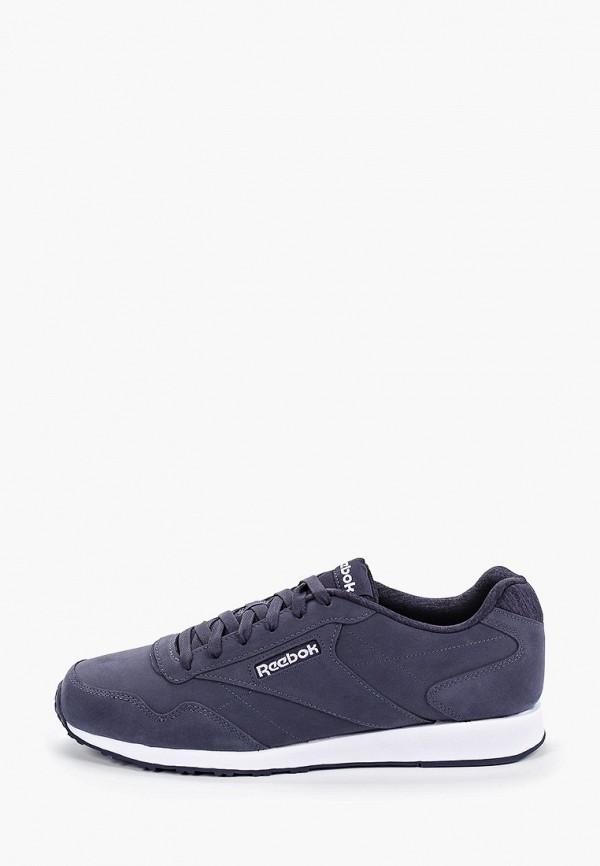 Фото - мужские кроссовки Reebok Classics синего цвета