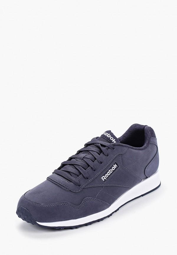 Фото 2 - мужские кроссовки Reebok Classics синего цвета