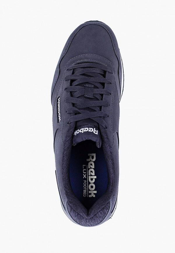 Фото 4 - мужские кроссовки Reebok Classics синего цвета
