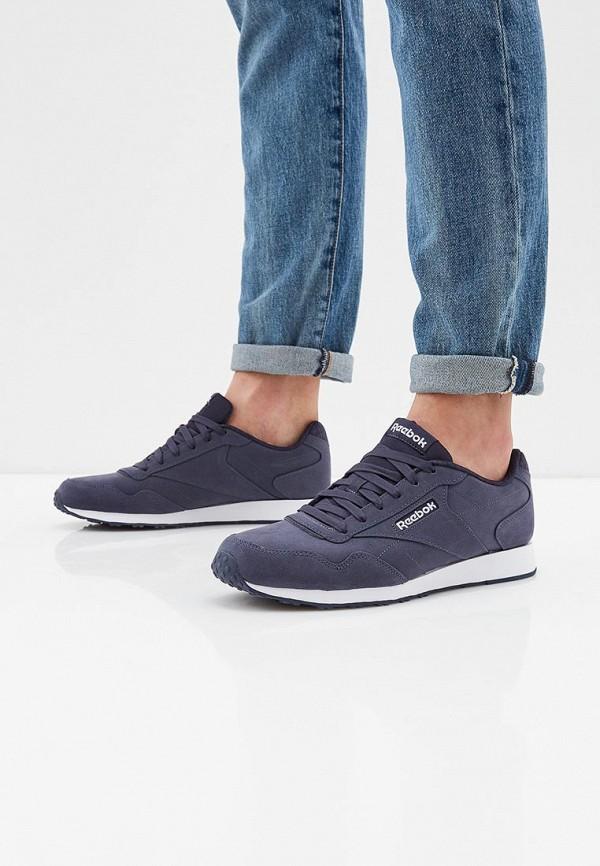 Фото 6 - мужские кроссовки Reebok Classics синего цвета