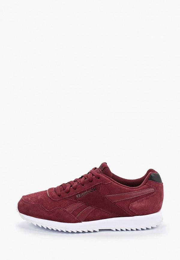 Фото - мужские кроссовки Reebok Classics бордового цвета