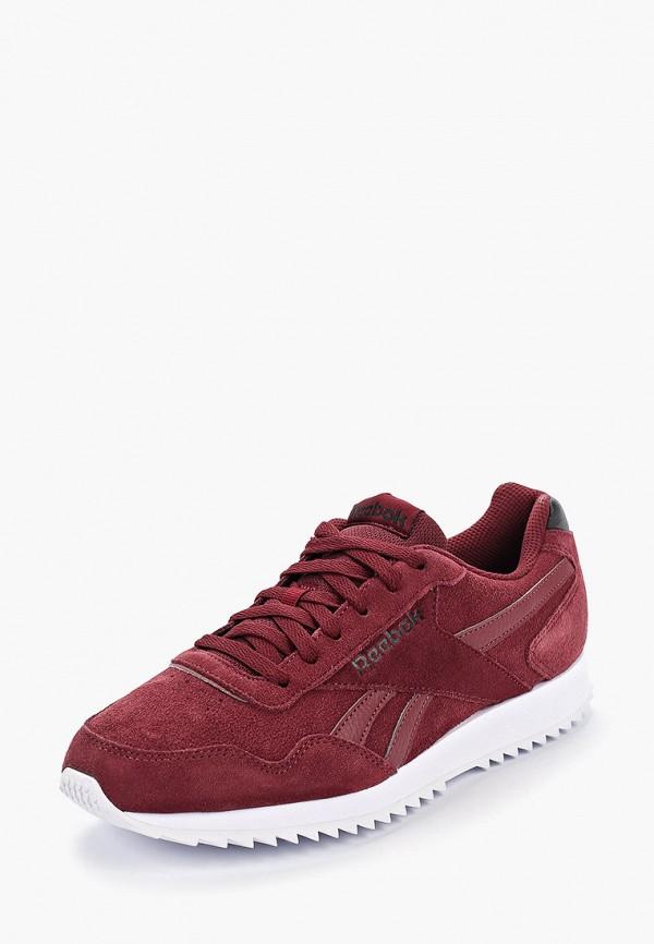 Фото 2 - мужские кроссовки Reebok Classics бордового цвета