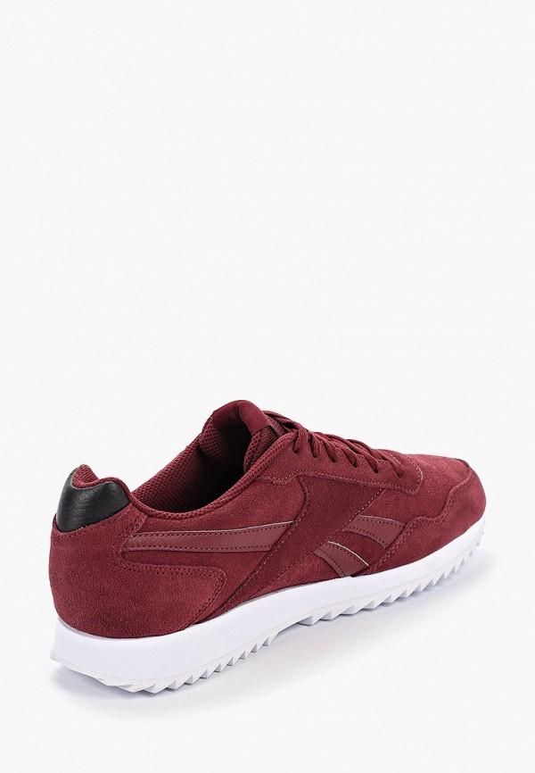 Фото 3 - мужские кроссовки Reebok Classics бордового цвета