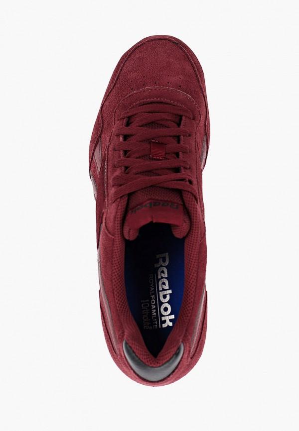 Фото 4 - мужские кроссовки Reebok Classics бордового цвета