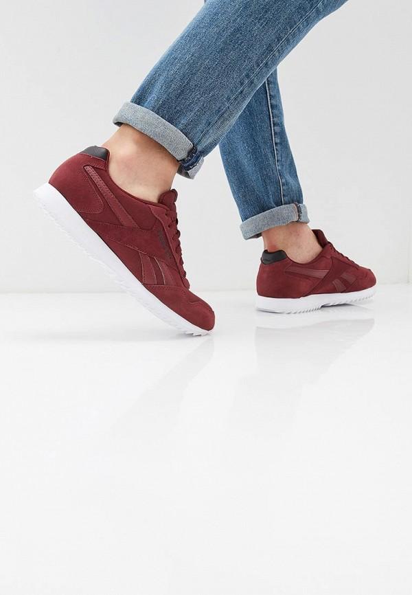 Фото 6 - мужские кроссовки Reebok Classics бордового цвета