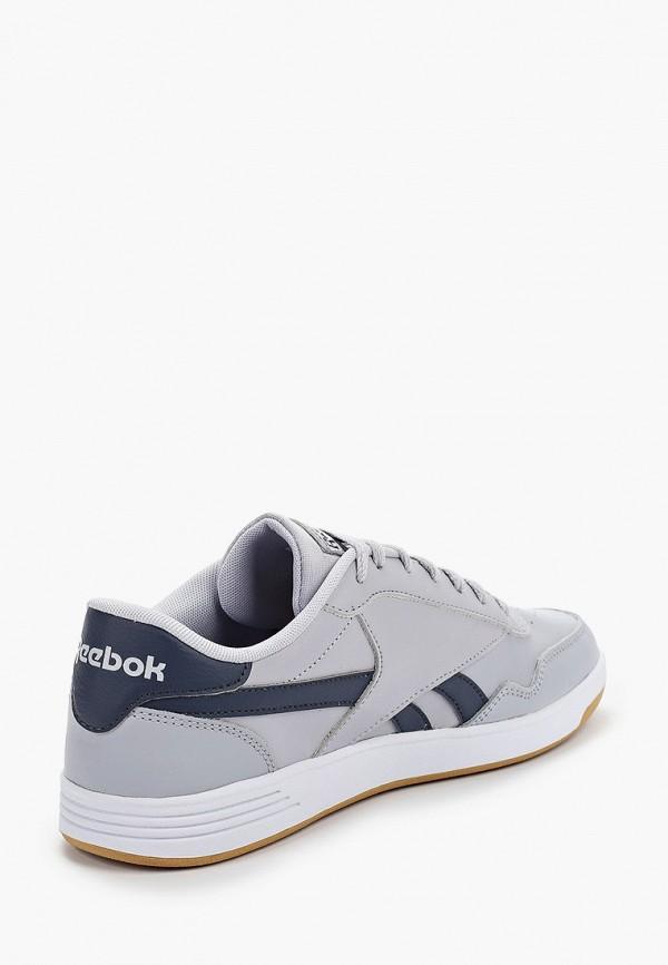 Фото 3 - мужские кеды Reebok Classics серого цвета