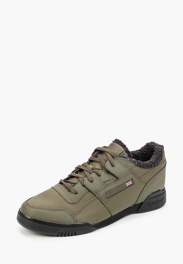 Фото 2 - мужские кроссовки Reebok Classics цвета хаки