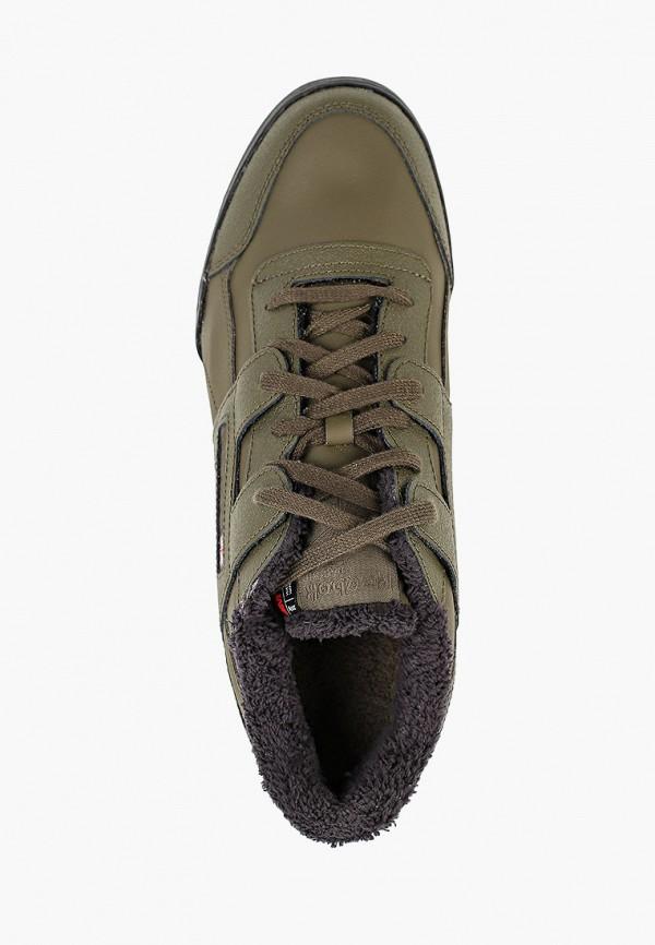 Фото 4 - мужские кроссовки Reebok Classics цвета хаки
