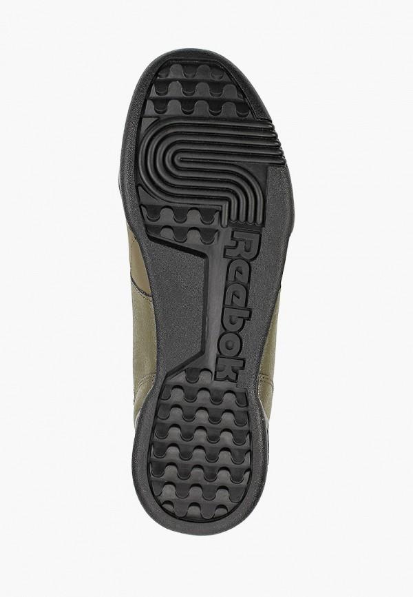 Фото 5 - мужские кроссовки Reebok Classics цвета хаки