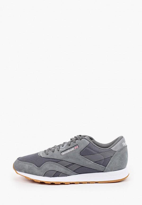 мужские кроссовки reebok, серые