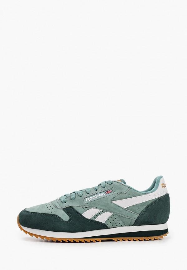 мужские кроссовки reebok, зеленые