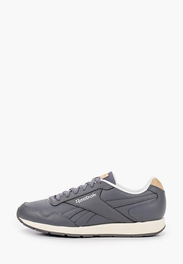 мужские низкие кроссовки reebok classic, серые
