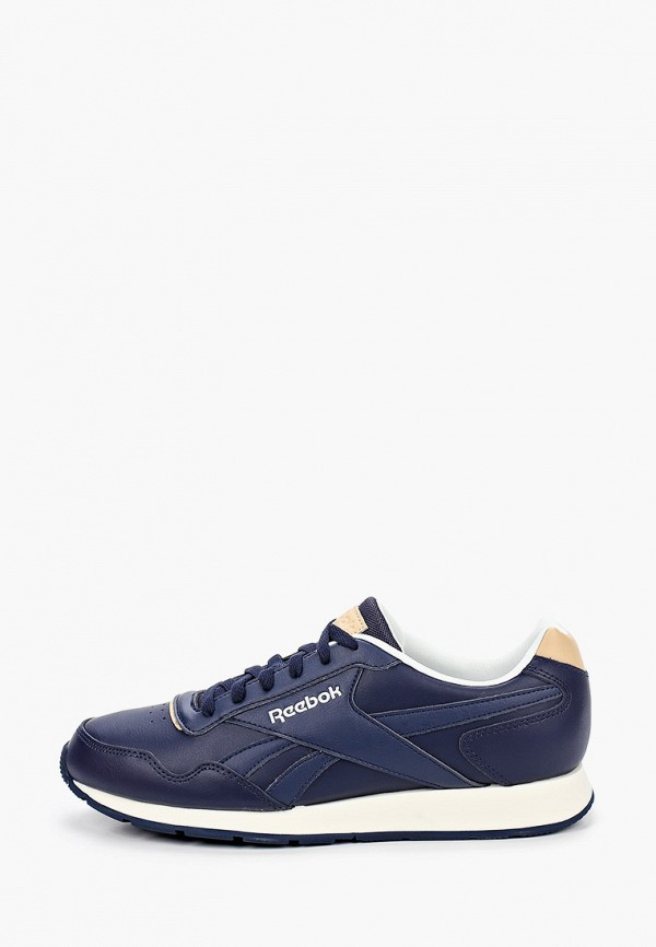 мужские низкие кроссовки reebok classic, синие