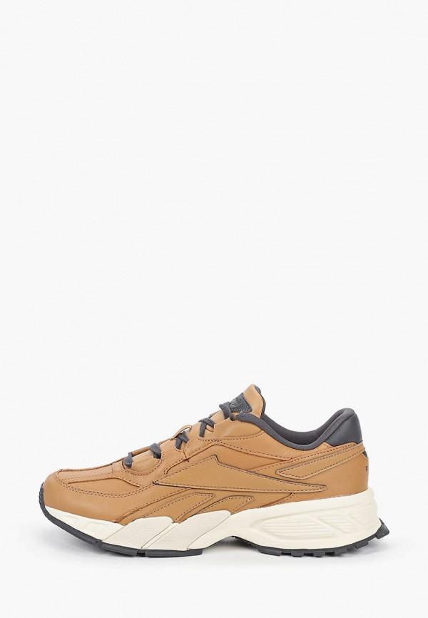 мужские кроссовки reebok classic, коричневые
