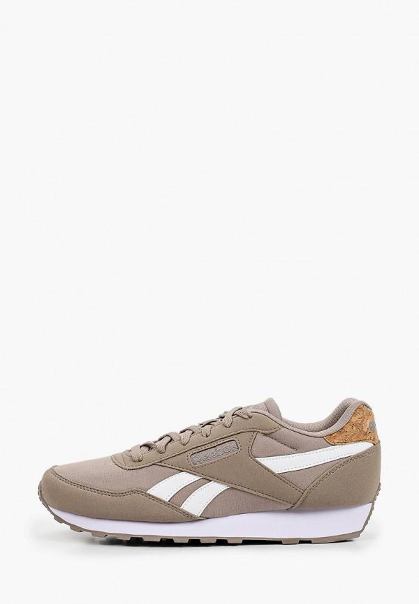 мужские низкие кроссовки reebok classic, бежевые