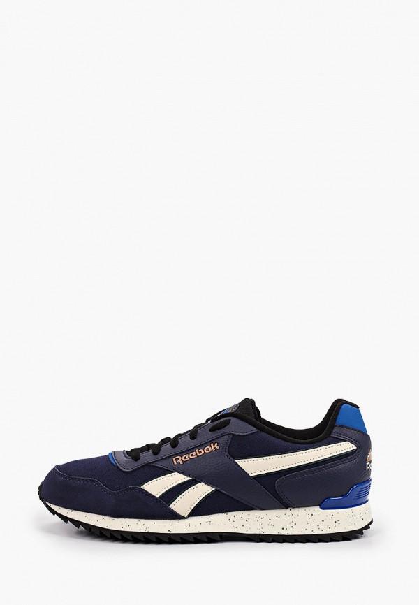 мужские кроссовки reebok classic, синие
