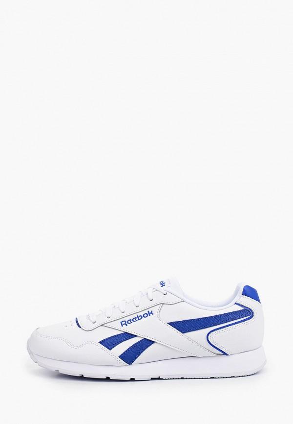 мужские низкие кроссовки reebok classic, белые