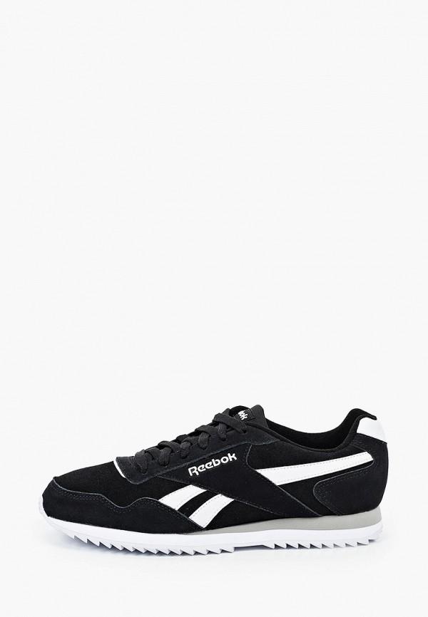 мужские низкие кроссовки reebok classic, черные