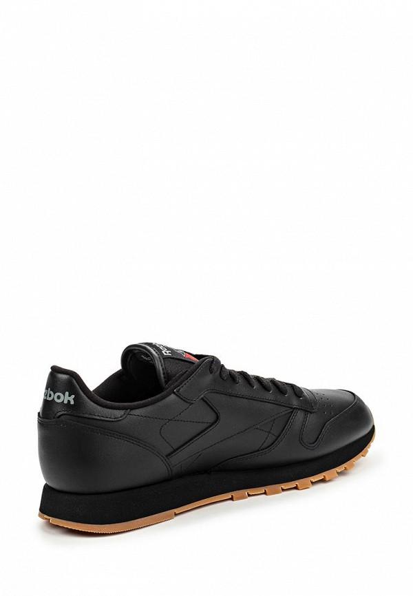 Фото 2 - мужские кроссовки Reebok Classics черного цвета