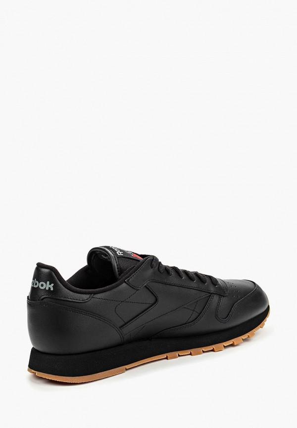 Фото 6 - мужские кроссовки Reebok Classics черного цвета
