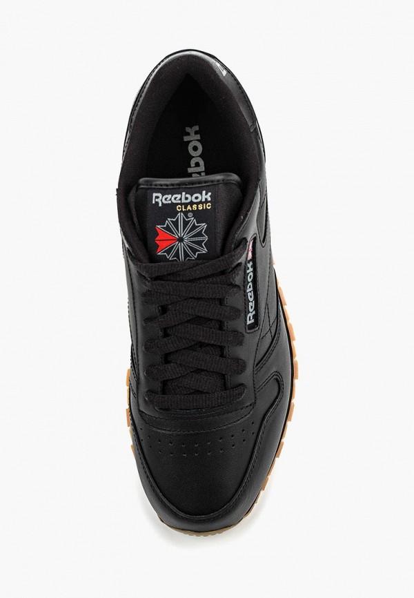 Фото 8 - мужские кроссовки Reebok Classics черного цвета