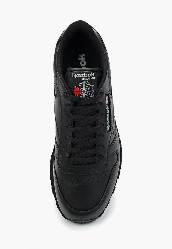 Фото 4 - мужские кроссовки Reebok Classics черного цвета