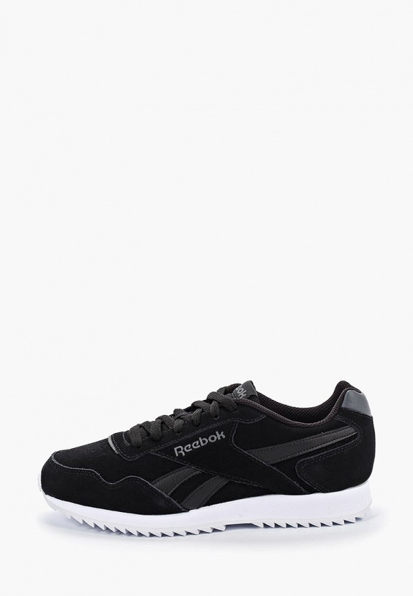 Фото - мужские кроссовки Reebok Classics черного цвета