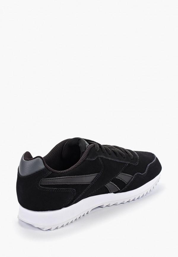Фото 3 - мужские кроссовки Reebok Classics черного цвета