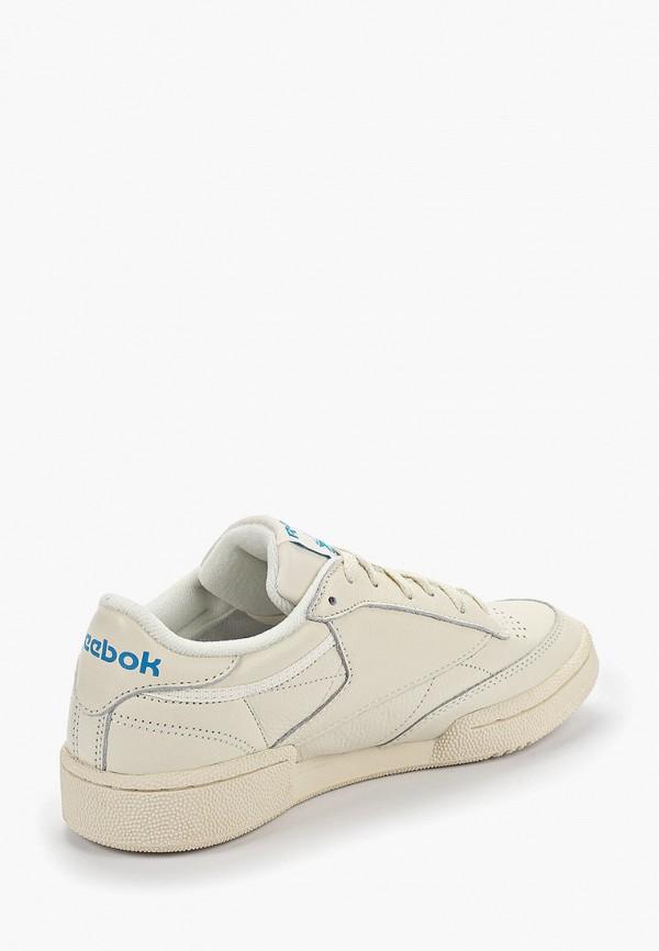 Фото 3 - мужские кроссовки Reebok Classics бежевого цвета