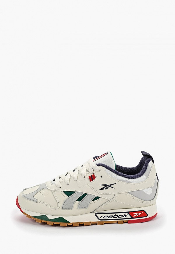 Купить мужские кроссовки Reebok Classics бежевого цвета