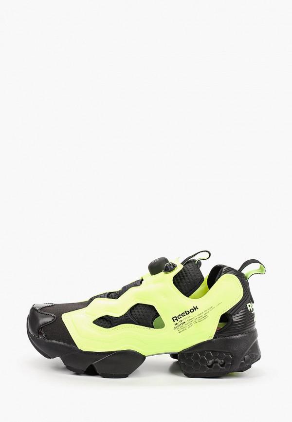 женские кроссовки reebok classic, желтые